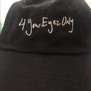 J cole 4 your eyes only tour hat